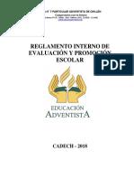 Reglamento de Evaluacion 2018 Actualizado.pdf