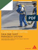 Flooring Spray Application Flyer
