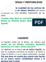 (2)Liquidez, Riesgo y Rentabilidad