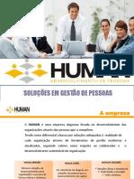 Apresentação HUMAN 2018