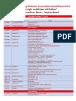 FNSA Convention Draft Agenda 2018 W Rooms