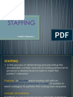 Staffing Final