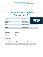 12.2 - Gases in the Atmosphere 2c - Edexcel Igcse 9-1 Chemistry Qp