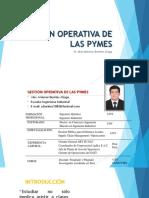 Gestión Operativa de Las Pymes