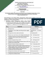 Pengumuman Perubahan Jadwal CPNS