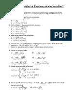 PRACTICA-Límite y Continuidad de Funciones de Dos Variables
