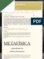 Aristóteles - Metafísica (Libro