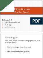 Metode Numerik Tugas Ppt