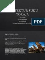 Arsitektur Suku Toraja