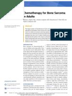 Chemoterapi Pada Kanker Tulang