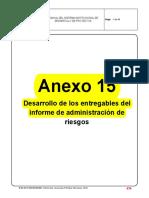 Anexo 15 Riesgos SIDP
