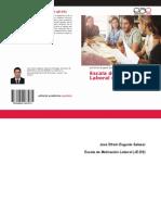 Libro de Escala de Motivación Laboral ( JE-ES )