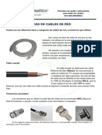 Tipos y Categorias de Cable de Red
