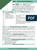 Plan 6to Grado - Bloque 1 MatemÔÇáticas.doc.doc