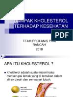 DAMPAK KHOLESTEROL TERHADAP KESEHATAN.pptx