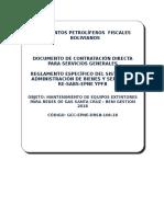2 Modelo DCD Servcios Generales Mantenimiento Extintores