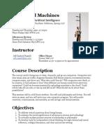 Skepticism Seminar 2014 Syllabus