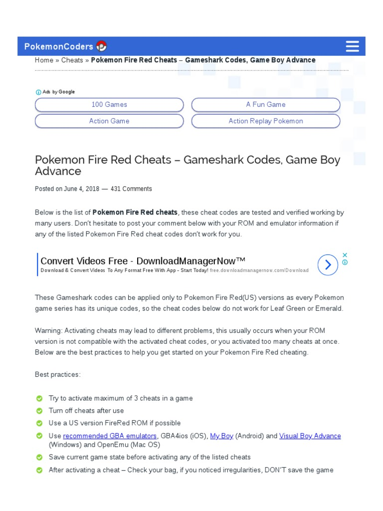 pokemon fire red omega rom download android