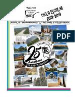 Agenda Manual Telesecundaria 2018-2019