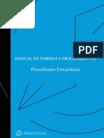 Manual de Procedimento Extrajudicial MPF