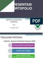 PRESENTASI PORTOFOLIO HSP