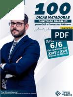 100 Dicas Matadoras - Direito Do Trabalho - Prof. Alexandre Amui