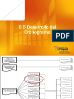 Desarrollo Del Cronograma PMI