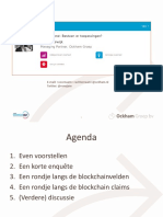 20181009 - Presentatie Blockchain - Overheid 360 - Rene Veldwijk