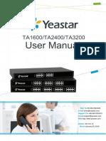 Yeastar TA1600&TA2400&TA3200 User Manual en.en.Id