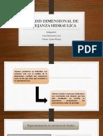 Analisis Dimensional de Semejanza Hidraulica