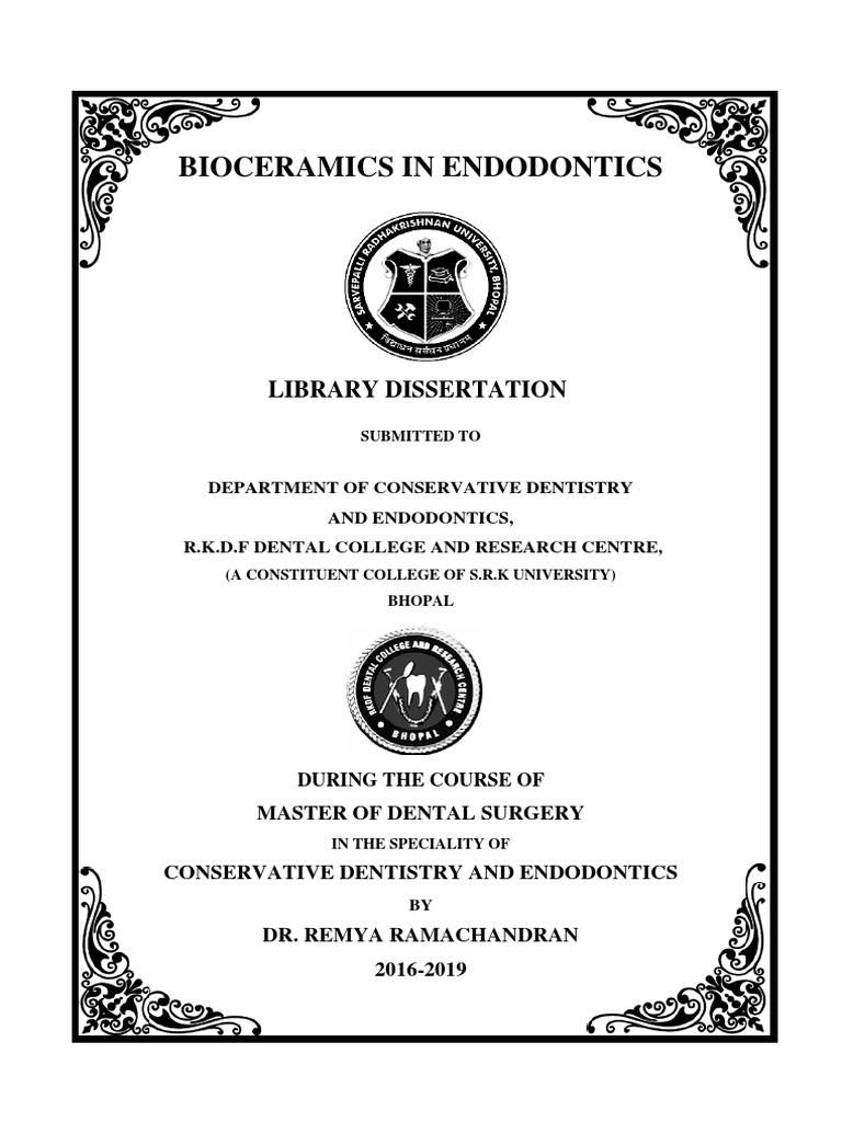 Library dissertation conservative dentistry example resume for network engineer