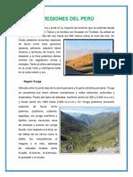 8 Regiones Del Perú