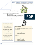 Present Continuous Elementary.pdf