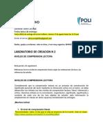 LABORATORIO DE CREACION N 2 -  preguntas de Comprensión lectora