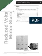 Reduced Voltage Motor Starter