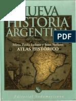 Lobato M. y Suriano J. Nva Historia Arg. Atlas Hco Color
