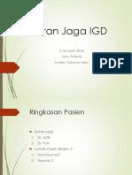 Laporan Jaga IGD 05 Sept 2018