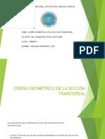 Diseño Geométrico de La Sección Transversal