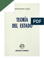 Pellet Lastra Arturo - Teoria Del Estado