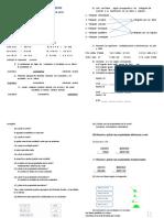 Examen Matematicas i Quimestre