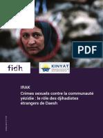 Crimes sexuels contre la communauté yézidie