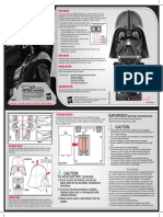 Darth Vadar Helmet Manual