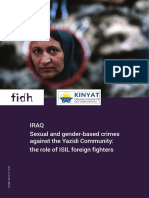 Sexual and gender-based crimes against the Yazidi Community