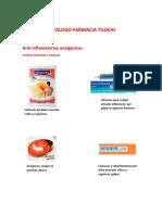Catalogo Farmacia Tiluchi A
