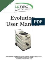 Evolution-Manual Carpet Cleaner