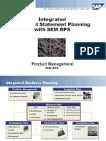 Sap - Financial Statement Planning