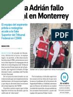 24-10-18 Impugna Adrián fallo  electoral en Monterrey