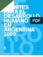Aportesdesarrollohumano2009ARG