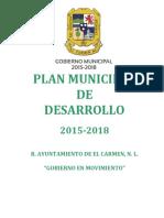 Plan Desarrollo Municipal 2015 2018