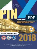 2nd Announcement Pin x Perhati 04